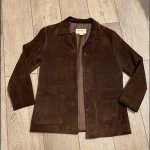 Eddie Bauer suede jacket, good condition